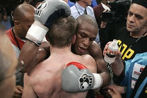 Floyd Mayweather Jr. and  Ricky Hatton