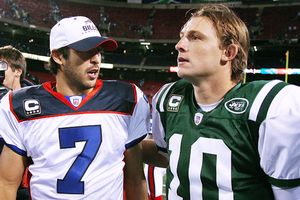 J.P. Losman and Chad Pennington