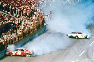 Richard Petty and David Pearson