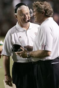 Gary Darnell and Dennis Franchione