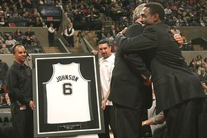 San Antonio Spurs Retired Numbers | RM.