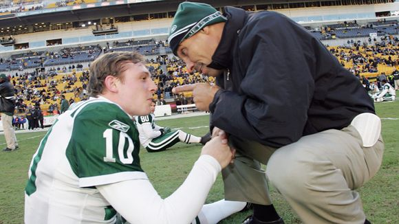 Chad Pennington and Herm Edwards