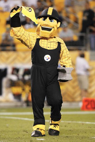 Steelers Mascot