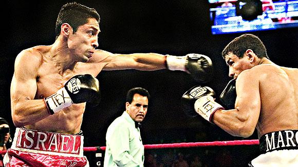 Israel Vasquez and Rafael Marquez