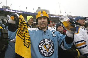 Penguins fan