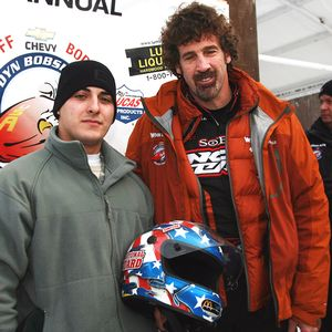 With his sweep, Boris Said, right, has won five of six races at the Bodine Bobsled Challenge. He stands with his brakeman, National Guardsman Daniel Moreno from Watervliet, N.Y.
