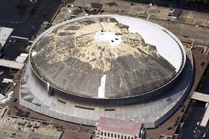 Superdome after Katrina