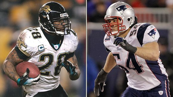 Fred Taylor and Tedy Bruschi