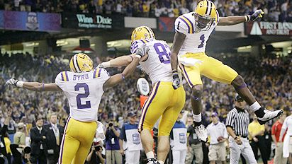 AP Photo Charlie Riedel LSU Beat Ohio State 38 24 To Win The BCS National Championship