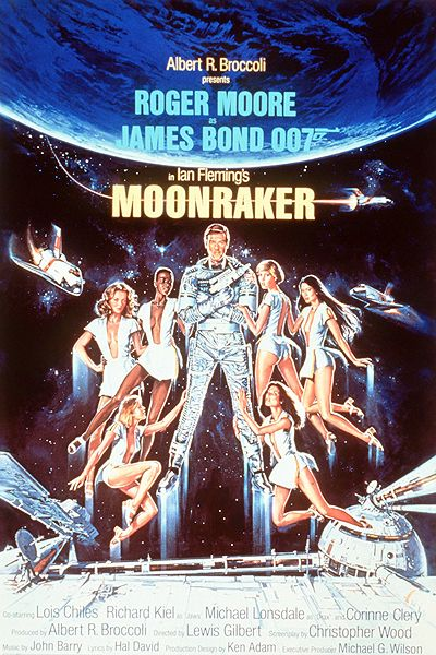 'Moonraker' movie poster