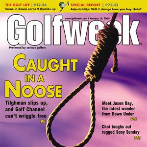 Golfweek cover