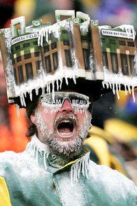 Green Bay Packers fan Jeff Kahlow