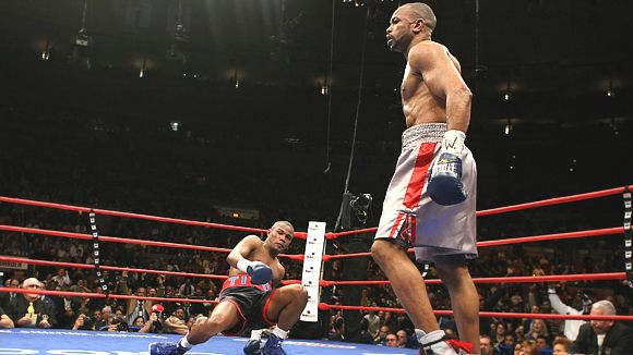 Roy Jones Jr. and Felix Trinidad