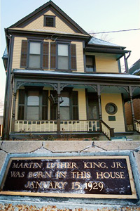 Martin Luther King Jr. house