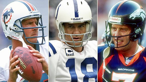 Marino, Manning, Elway