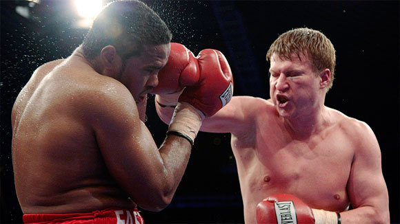 Eddie Chambers and Alexander Povetkin