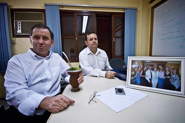 Valdir and Jorge Frederico