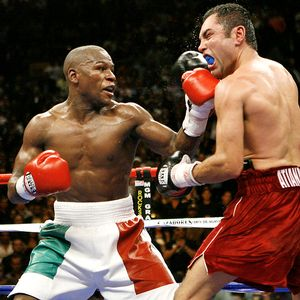 Beating De La Hoya 100 times won't do anything to secure Mayweather's legacy.