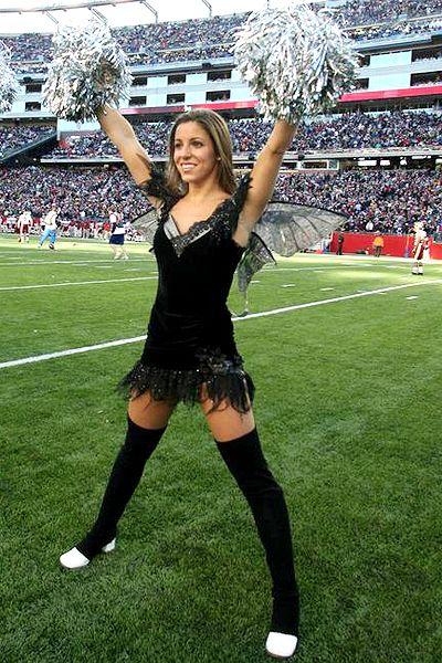 New England Patriots Cheerleader Alicia