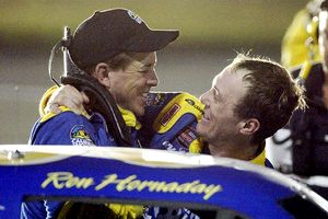 Ron Hornaday and Kevin Harvick