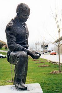 Jack Trice statue