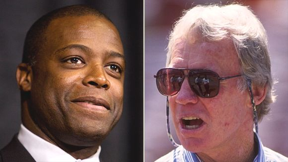Darrell Green and Bobby Beathard