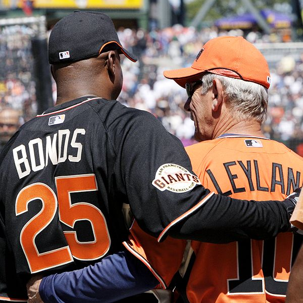 Barry Bonds and Jim Leyland