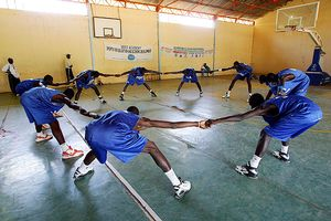 Senegal hoops