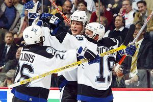 Brad Richards, Vincent Lecavalier & Martin St.Louis