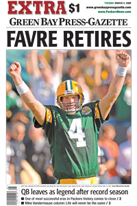 Favre Retires