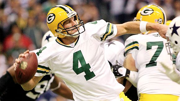 how long did brett favre play in the nfl
