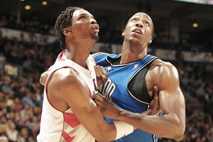 Chris Bosh and Dwight Howard