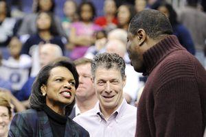 Condoleezza Rice, Patrick Ewing Sr.