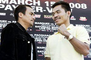 Juan Manuel Marquez and Manny Pacquiao