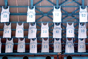North Carolina Retired Jersey's