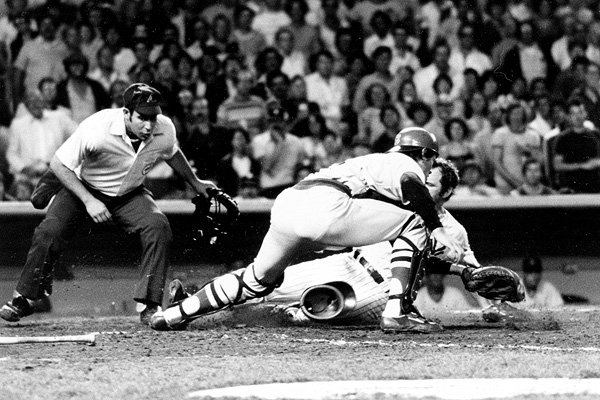 Thurman Munson and Carlton Fisk in