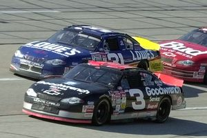 Dale Earnhardt and Mike Skinner