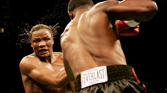 Jermain Taylor and Kassim Ouma