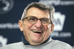 Joe Paterno will enter his 43rd season as head coach at Penn State in the fall.