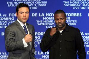 Oscar De La Hoya, Steve Forbes