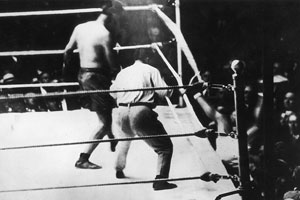 Jack Dempsey and Luis Angel Firpo