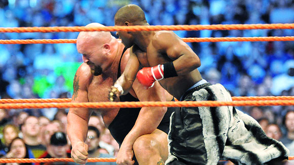 Floyd 'Money' Mayweather and Big Show