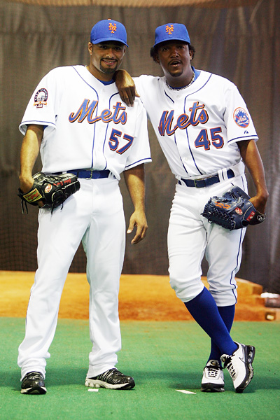 Johan Santana and Pedro Martinez