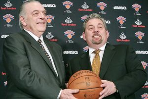 Donnie Walsh and James Dolan