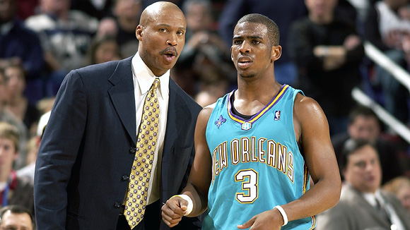 Byron Scott and Chris Paul