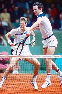 John McEnroe and Peter Fleming