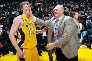 Coby and George Karl
