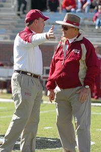 Jimbo Fisher and Bobby Bowden