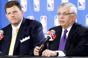 David Stern and Clay Bennett