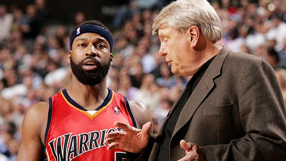 Baron Davis and Don Nelson